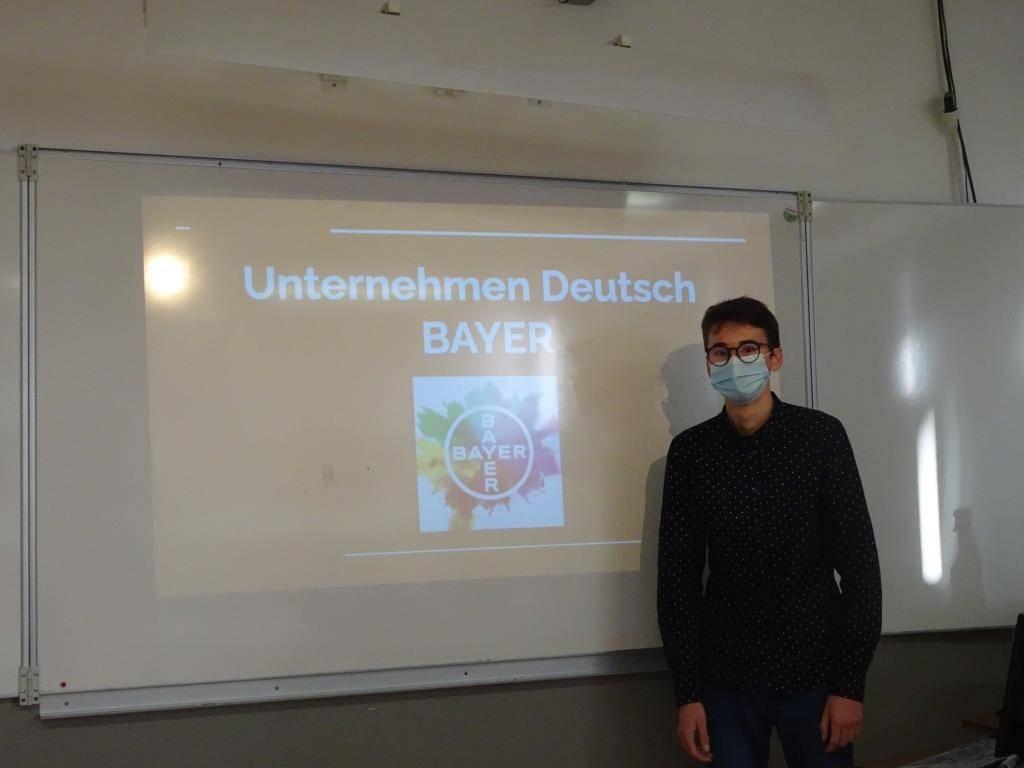 Projet Unternehmen Deutsch